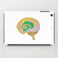 brain iPad Cases featuring Brain by FACTORIE