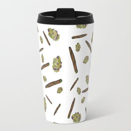 Blunts n Nugs Allover Print Travel Mug