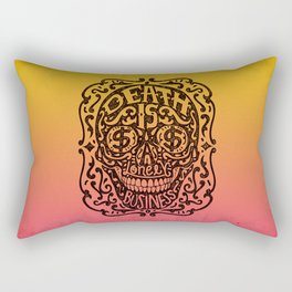 Death is a Lonely Business Rectangular Pillow