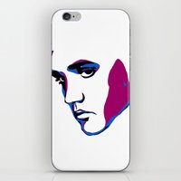 elvis iPhone & iPod Skins featuring ELVIS by HAUS OF DEVON