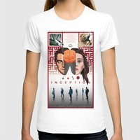 comic book T-shirts featuring Inception: comic-book style poster by Norbert Demeter