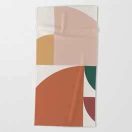 Abstract Geometric 10 Beach Towel