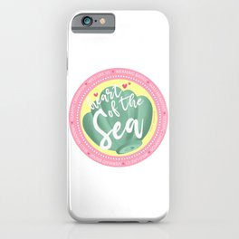 Mermaid Badge iPhone Case
