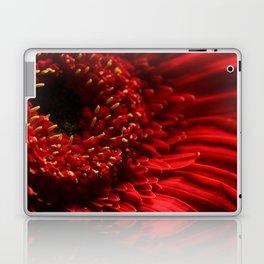 Red Gerbera Daisy Laptop & iPad Skin