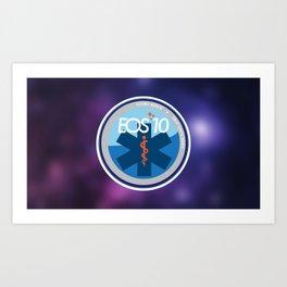 EOS 10, Alliance Medical Art Print