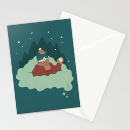 Snow Fun Stationery Cards