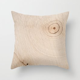 Real Wood Texture / Print Throw Pillow