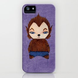 A Boy - Werewolf iPhone Case