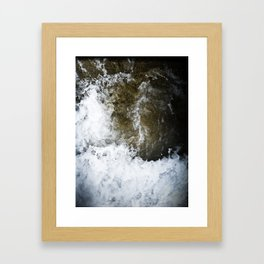 swallowed in the sea part 2 Framed Art Print