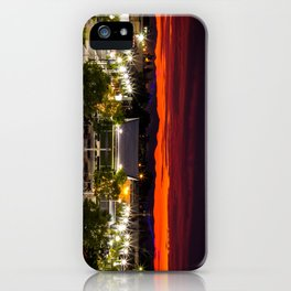 City scape /Medford OR iPhone Case