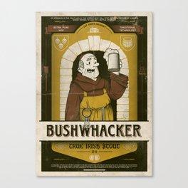 Classic Posters. Bushwacker Canvas Print