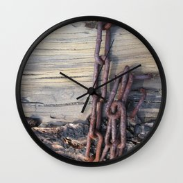 Chains Wall Clock
