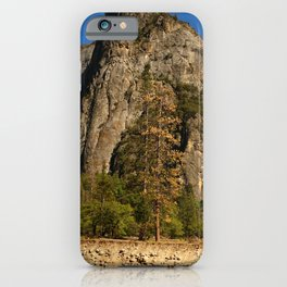 Peaceful Yosemite Valley Scene iPhone Case