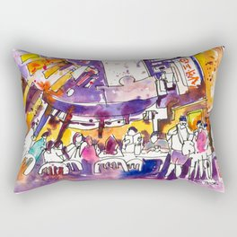 20170309b Chinatown Smith Street USKSG Rectangular Pillow