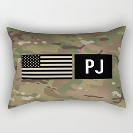 PJ (Camo) Rectangular Pillow