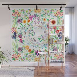Flowers Appear on Earth - English Wall Mural