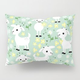 Baby goats Pillow Sham