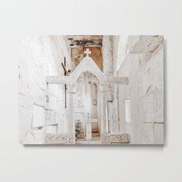 Croatia Art Print | Croatia Travel Photography | St. Martin's Church In Split Metal Print