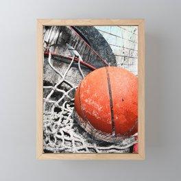 Modern Basketball Art 8 Framed Mini Art Print