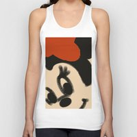 minnie mouse Tank Tops featuring Doodling Minnie Mouse by SH.drawings