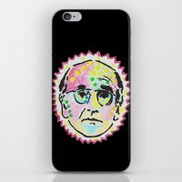 larry david iPhone & iPod Skins featuring Larry David by Butt Ugly Co