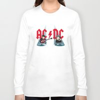 acdc Long Sleeve T-shirts featuring ACDC by victimArte