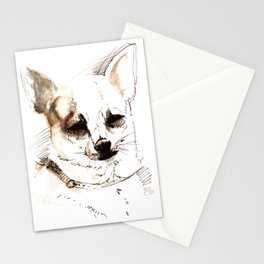 Chihuahua Watercolor Stationery Cards
