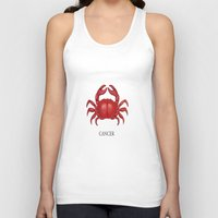 cancer Tank Tops featuring Cancer by Dano77
