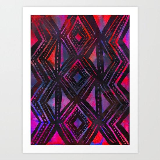 KENYA Art Print