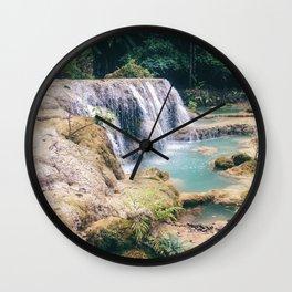 Waterfall Oasis Wall Clock
