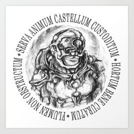 Castellum - The Glass Parachute Anthology Art Print