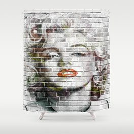 Sex Symbol Wall Hanging | Movie Star Art Tapestry | Wall Art Decor Shower Curtain