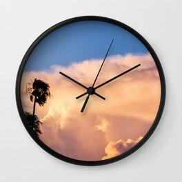 Clearing Skies Wall Clock