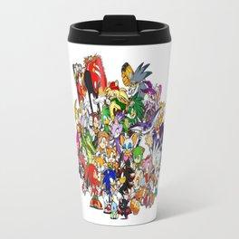 Sonic the hedgehog characters 3 Travel Mug