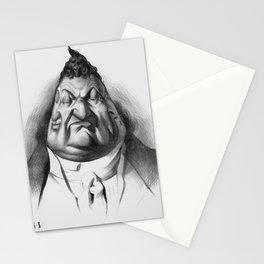 """Honoré Daumier """"Le passé, le présent, l'Avenir (Louis Philippe d'Orlèans)"""" Stationery Cards"""