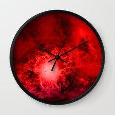 Wall of Space II Wall Clock