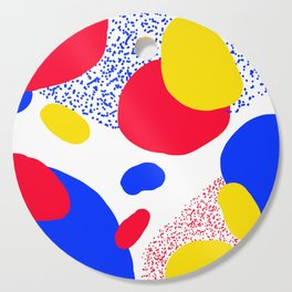 Primary Dots Cutting Board