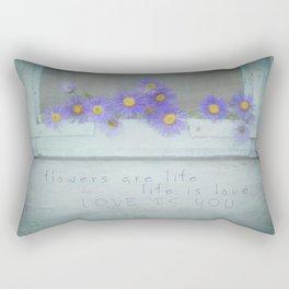 Love is You Rectangular Pillow