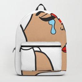 Comic Tears Backpack