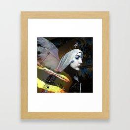 Saint Dymphna Reborn Framed Art Print