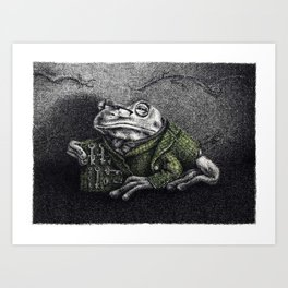 Forging Frog Inc. Art Print