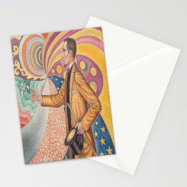 Paul Signac - Pointillist Portrait of Félix Fénéon Stationery Cards
