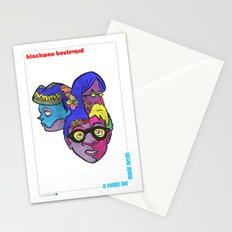 Blackwax Boulevard Book 4 Poster Stationery Cards
