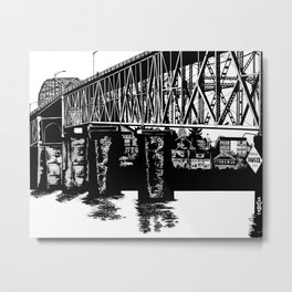 Manette Bridge Metal Print