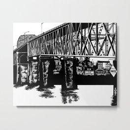 Manette Bridge Metal Print