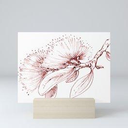 Pohutukawa flowers Mini Art Print