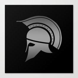 Ancient Greek Spartan Helmet Canvas Print
