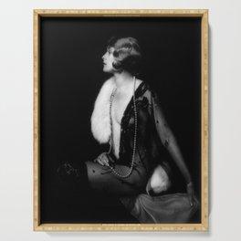Ziegfeld Girl Muriel Finlay Alfred Cheney Johnston Serving Tray
