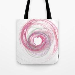 Valentine's Fractal VII - Light Tote Bag