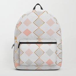 Pattern Rose Backpack